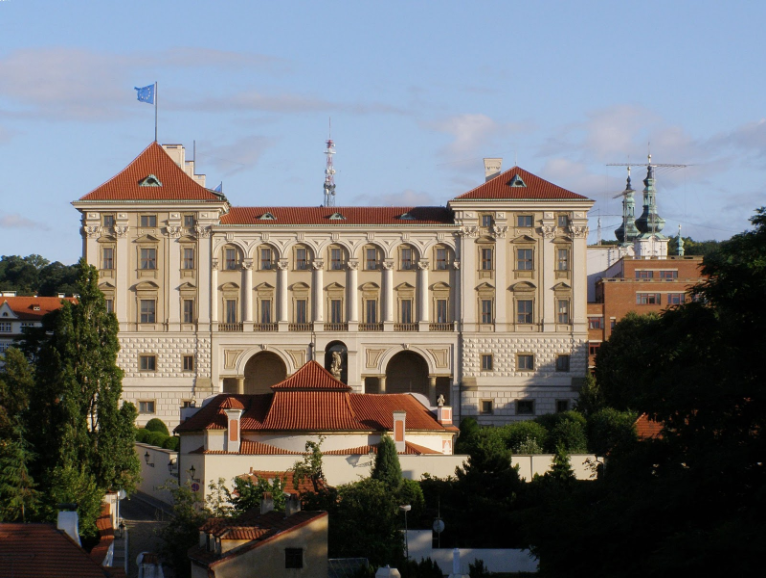 Czernin Palace, Photo by Daniel Baránek, CC BY-SA 4.0, Wikimedia Commons